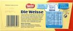 Nestlés weiße Schweizer Schokolade (Rückseite)