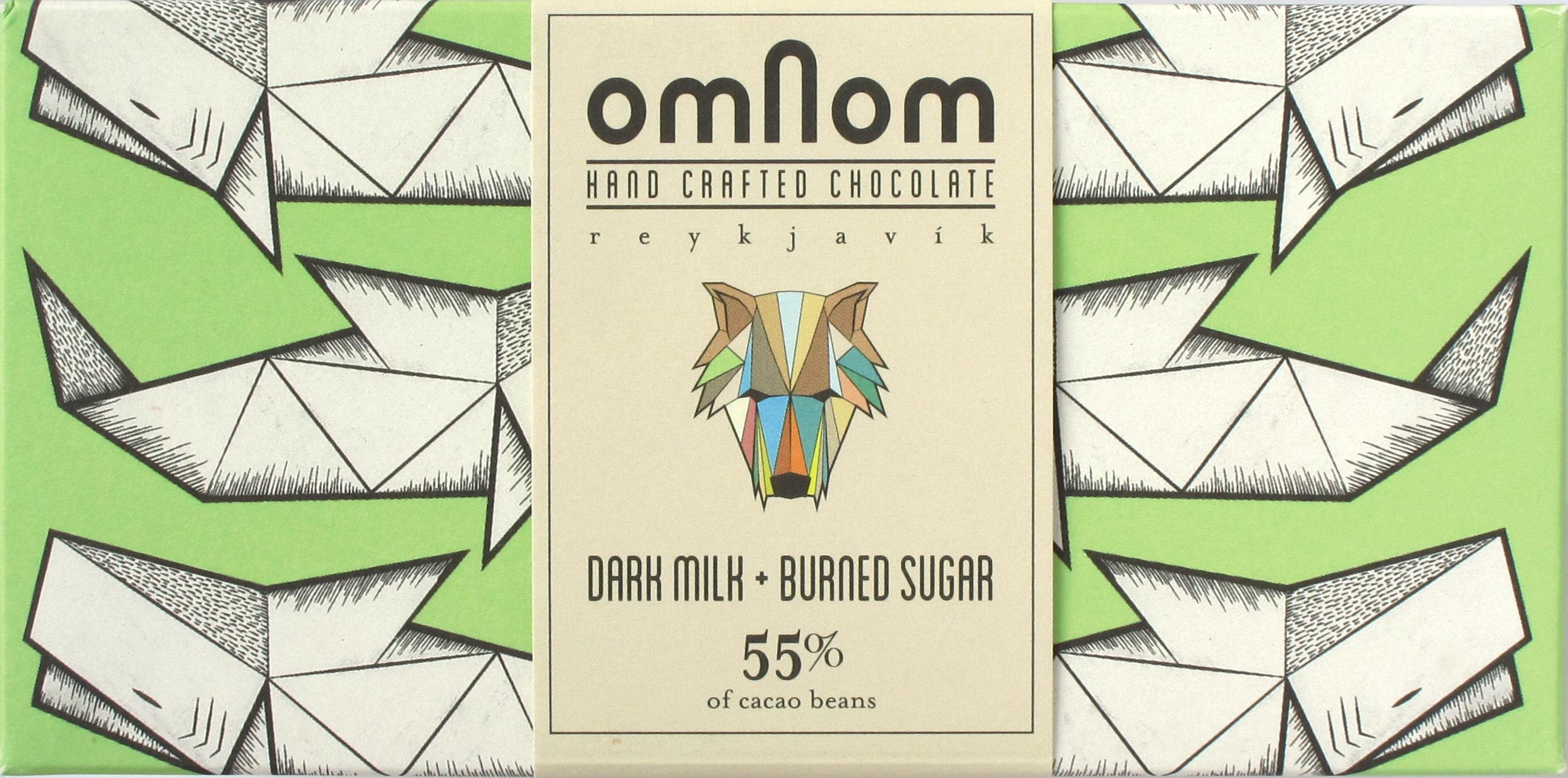 Omnom isländische Milchschokolade (55%)