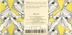 Omnom Dirty Blonde: 36% Weiße Schokolade, Rückseite
