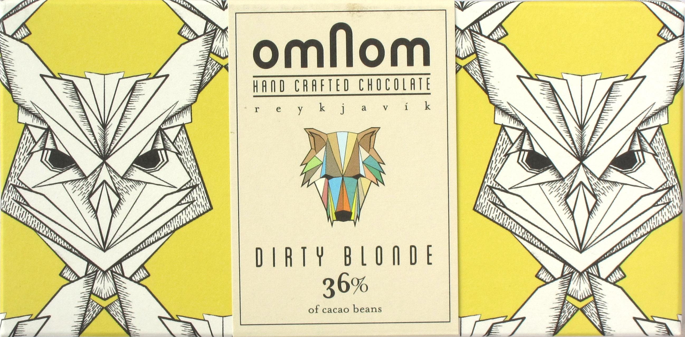 Omnom Dirty Blonde: 36% Weiße Schokolade