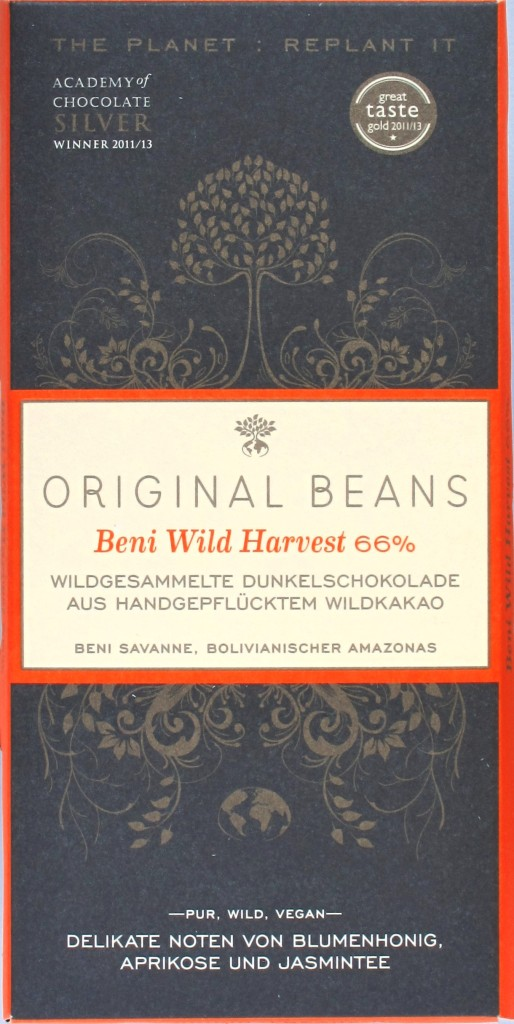 Cover: Original Beans Beni 66%