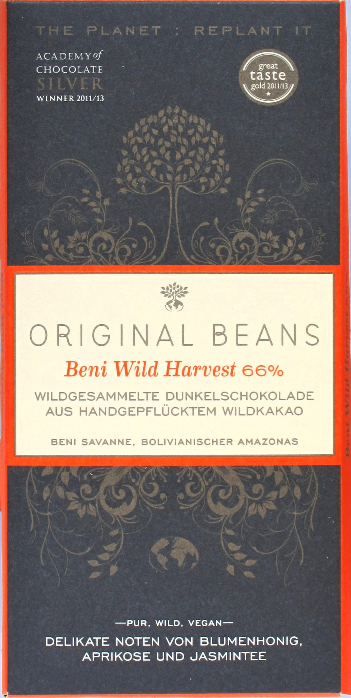 Cover: Original Beans Beni 66%