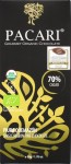 Pacari 70%-Schokolade 'Piura Quemazón', Vorderseite