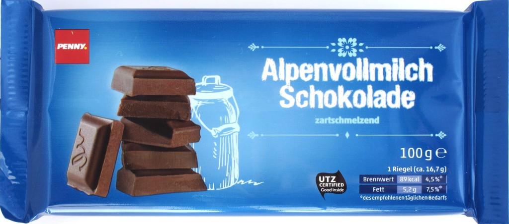 Penny Schokolade