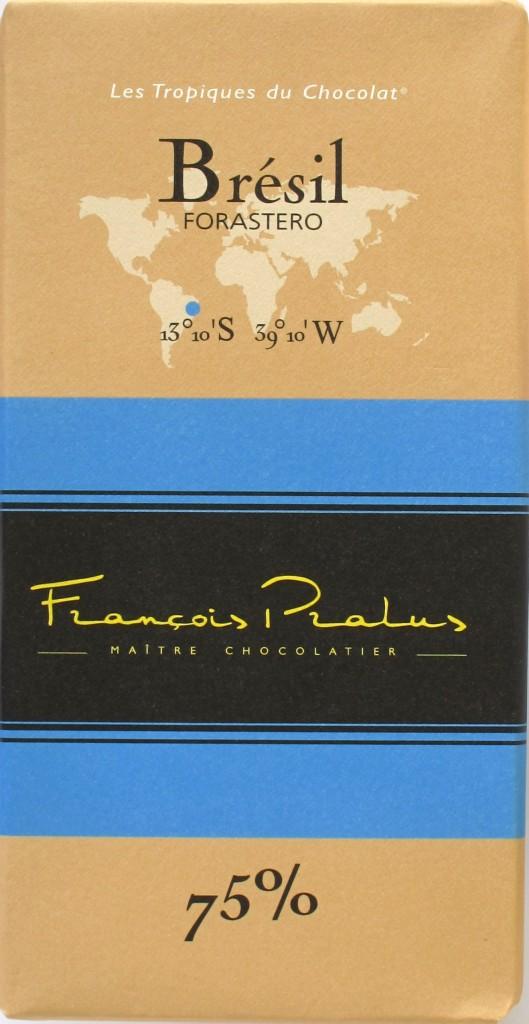 Brasilien-Bitterschokolade 75% Pralus