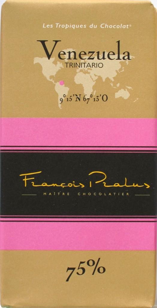 Francois Pralus Venezuela Trinitario - Cover
