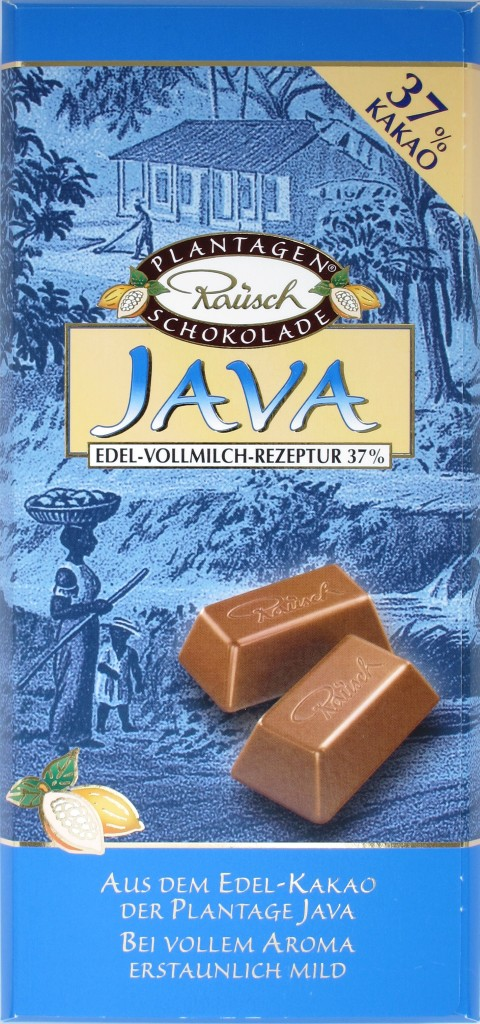 """Rausch 37% Plantagenschokolade """"Java"""""""