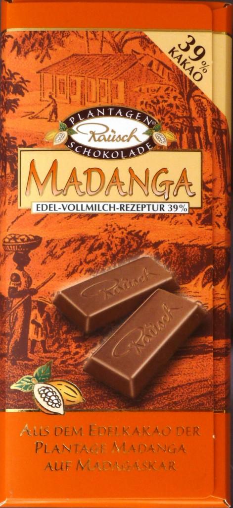 "Madagaskar-Schokolade ""Madanga"""