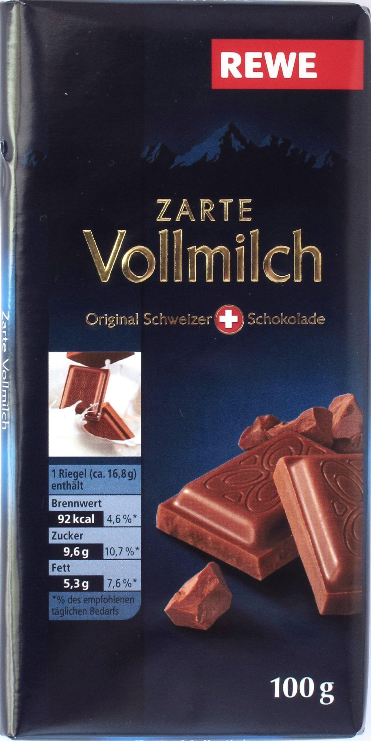 Rewe 30% Milchschokolade
