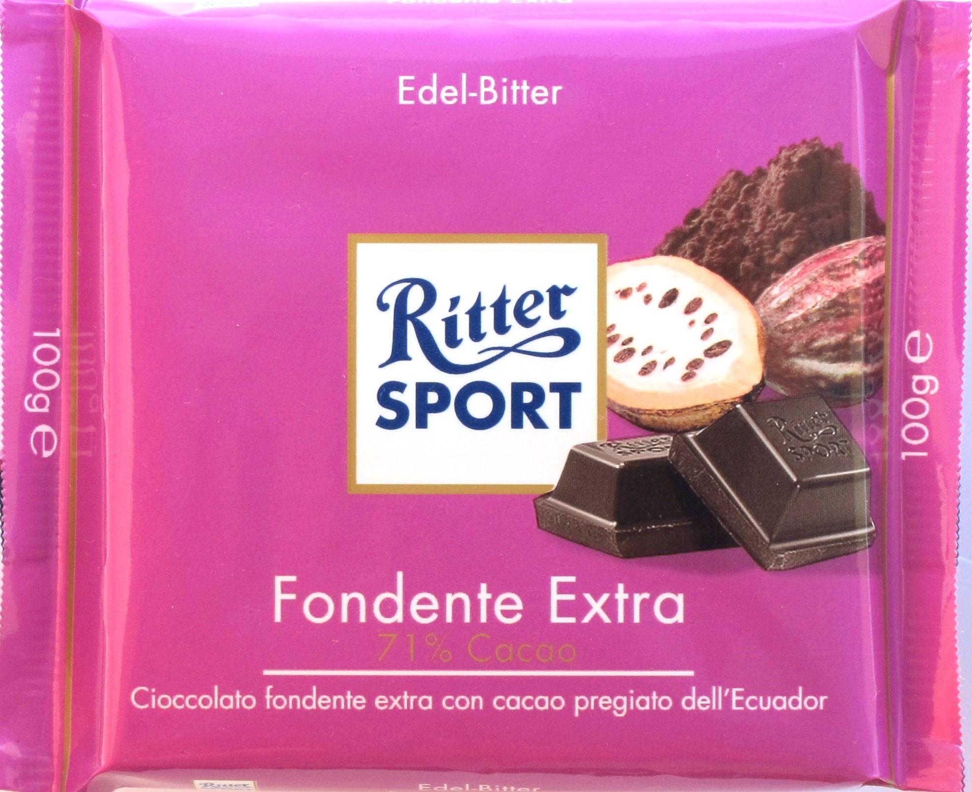 Ritter Sport, Bitterschokolade, 71%