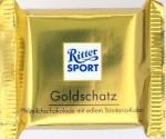Ritter Sport Milchschokolade Goldschatz 40%