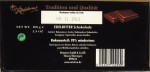 Rotstern 70%-Bitterschokolade: Rückseite