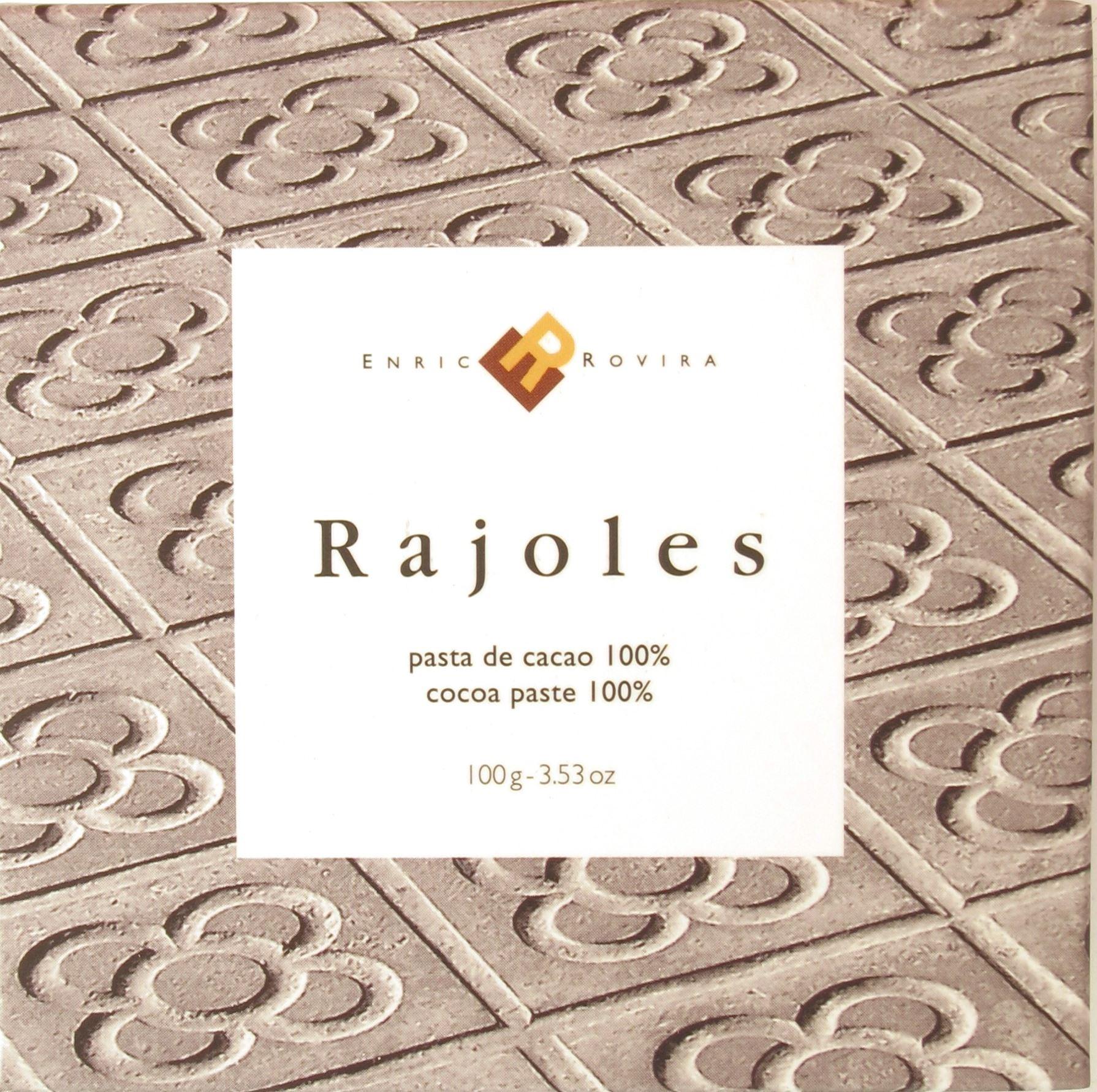 Vorderseite, Rovira Rajoles 100% Schokolade