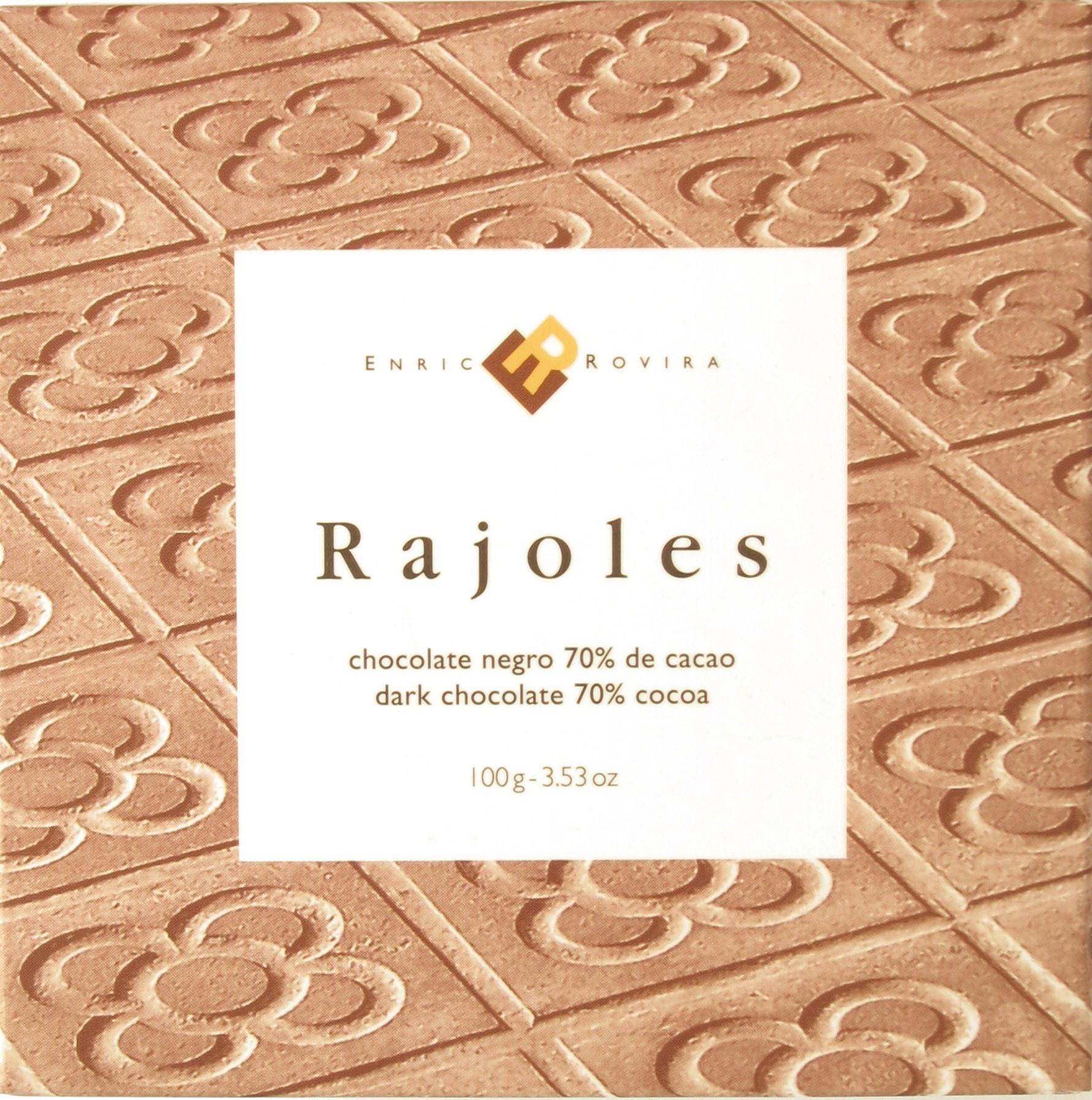 Dunkle Tafelschokolade Enric Rovira, Barcelona