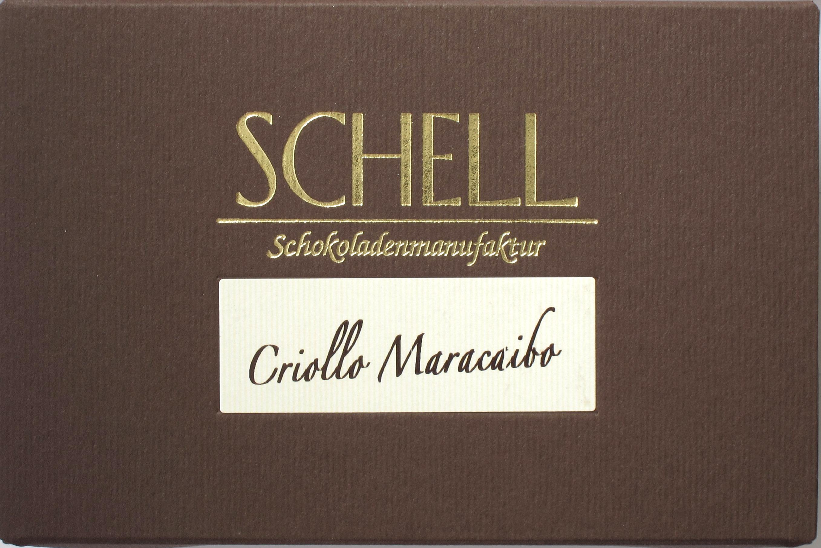 Schell Schokolade CRIOLLO MARACAIBO