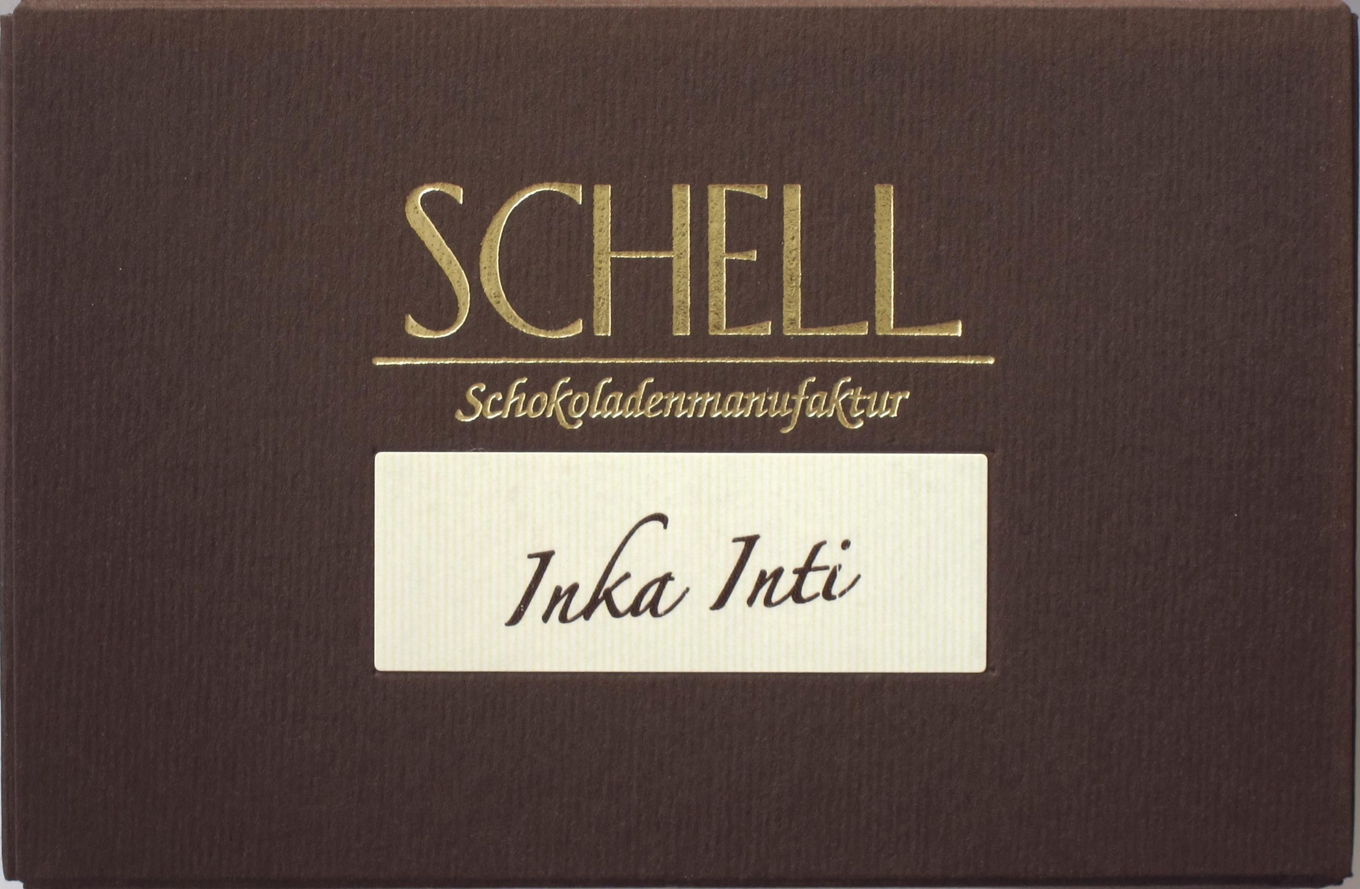 "Schell ""Inka Inti"" Bitterschokolade"