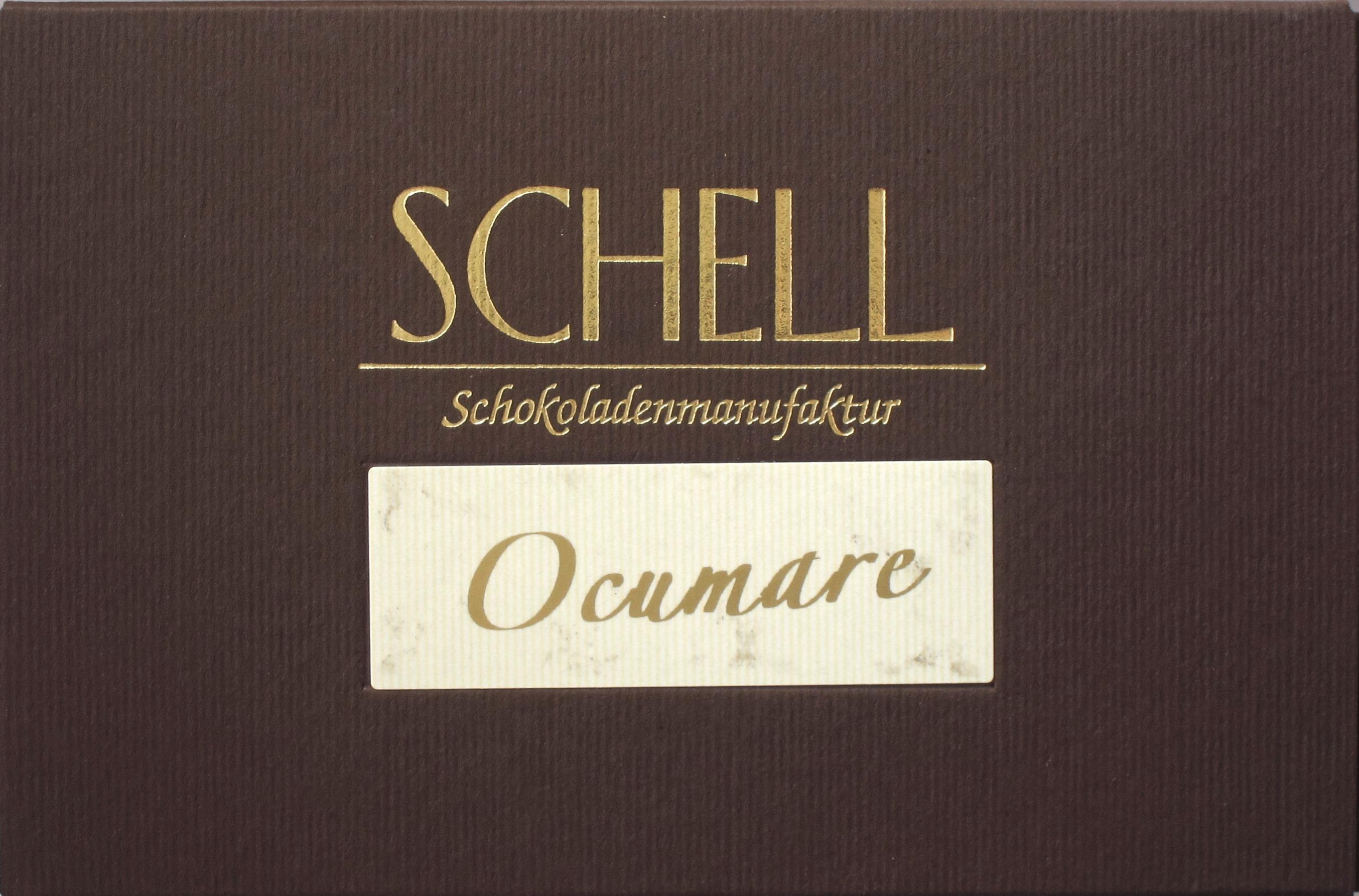 Schell Schokoladenmanufaktur Ocumare 72