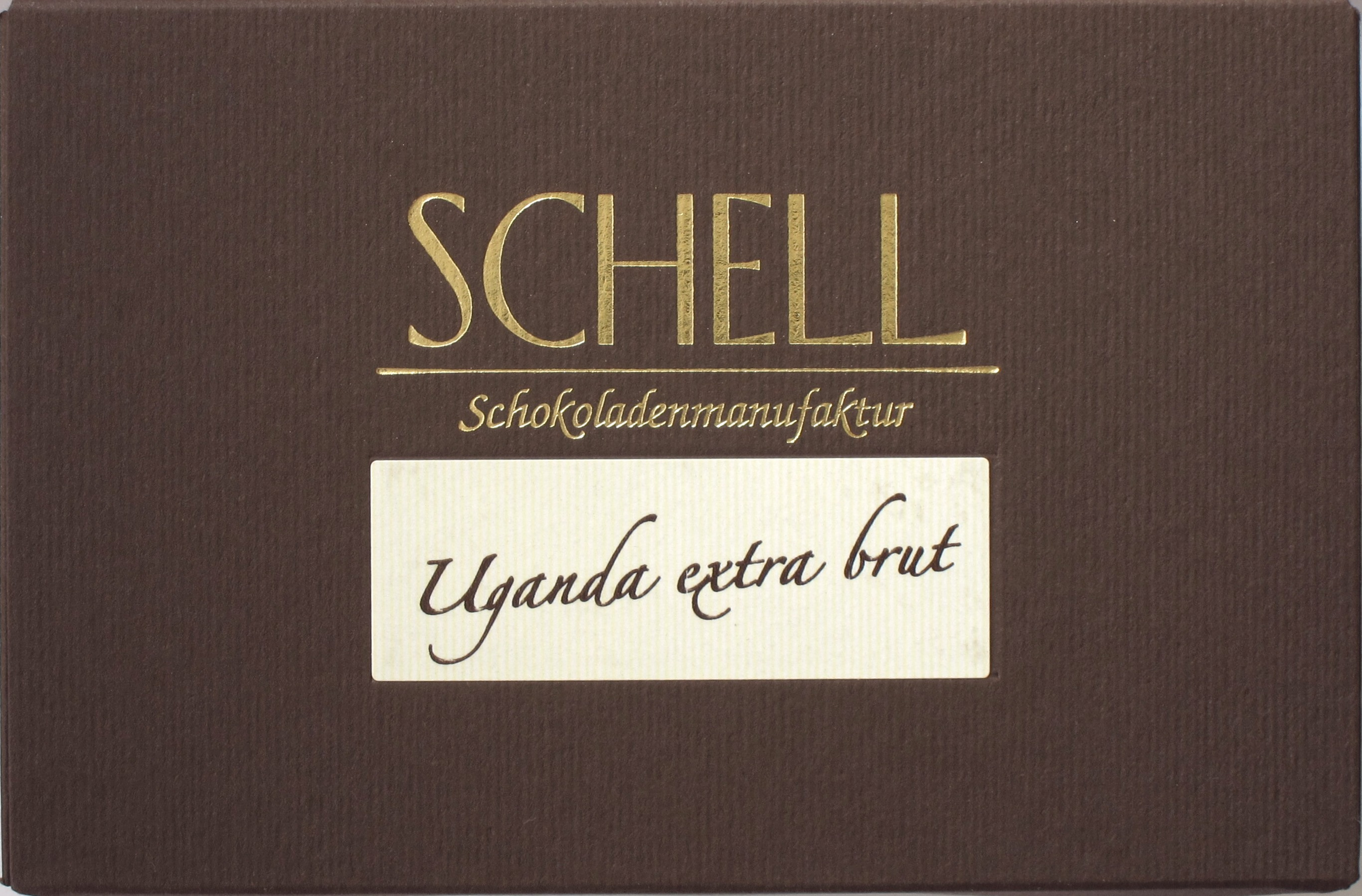 "Schell-Schokolade ""Uganda extra brut"" 85%"
