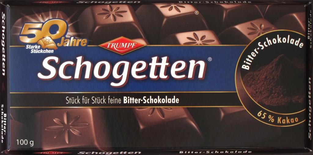 Schogetten 65% Kakao - Packung