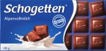 Schogetten Alpenvollmilchschokolade