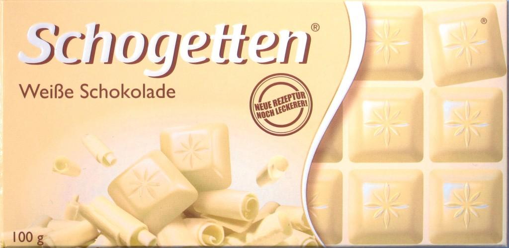 Schogetten, Weiße Schokolade