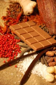 Aroma von Schokolade