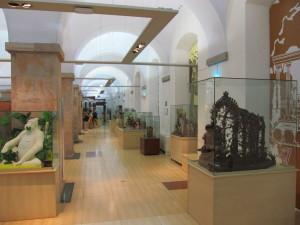 Innenraum des Schokoladenmuseums Barcelona