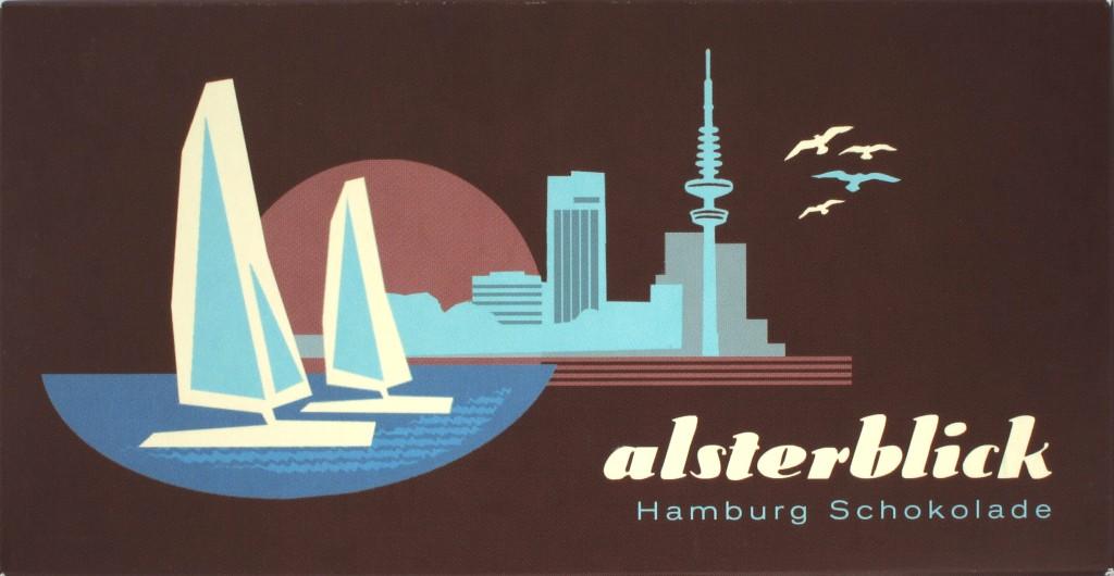 "Schachtel Schokovida ""Alsterblick"" ""Hamburg-Schokolade"""