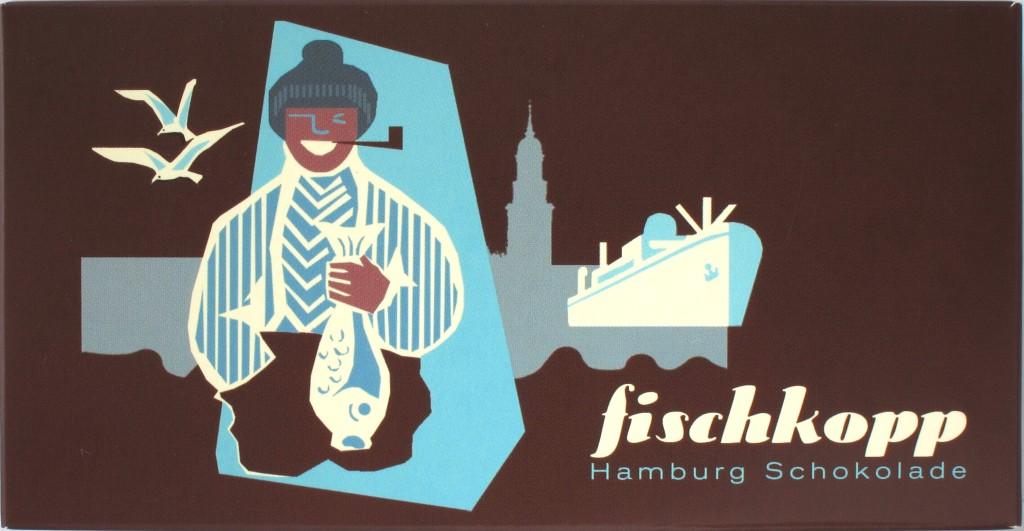Hamburg-Milchschokolade mit Nibs und Salz