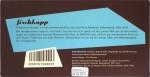 Hamburg-Milchschokolade mit Nibs und Salz (Rückseite)