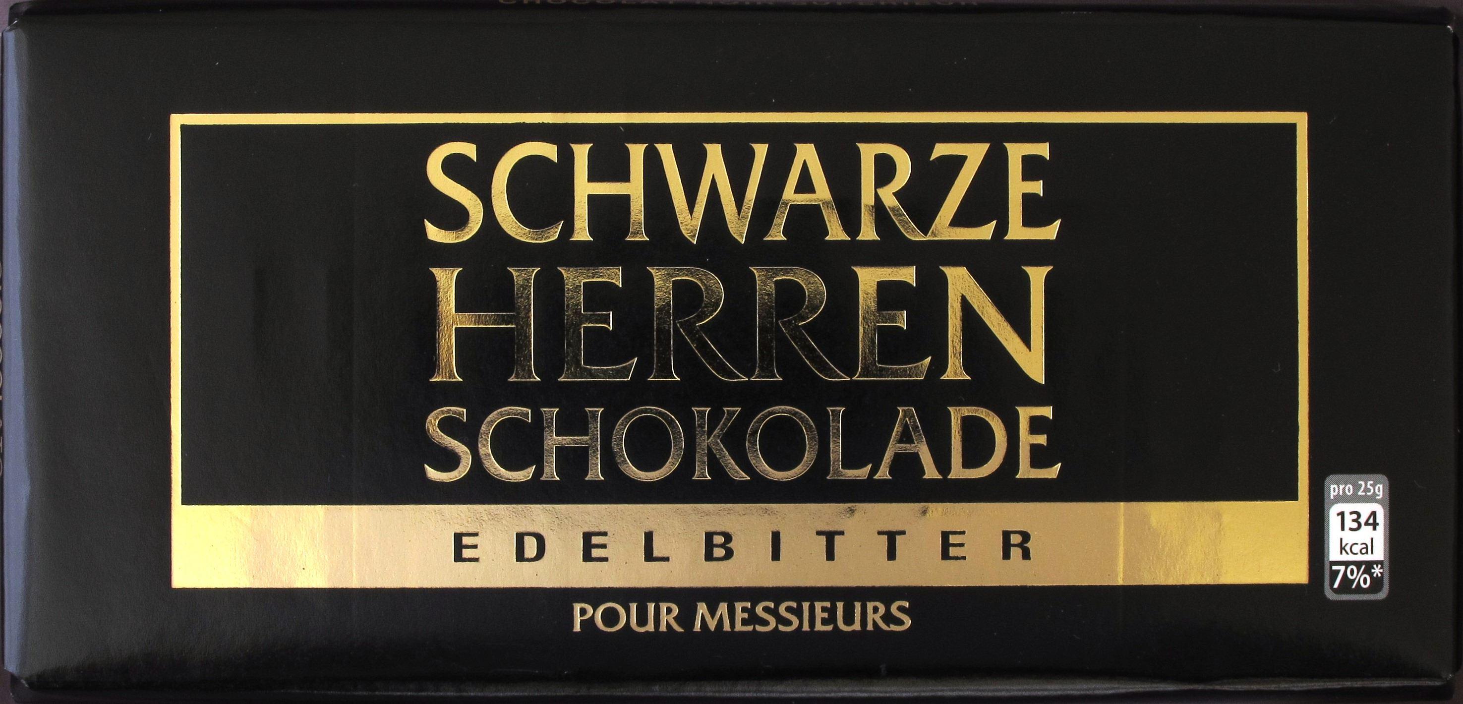 """Sarotti """"Schwarze Herren Schokolade"""""""
