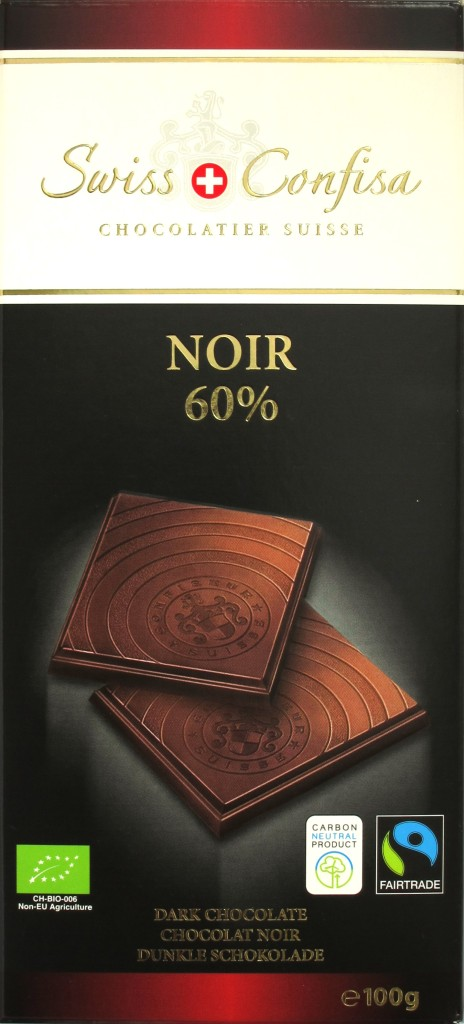 Swiss Confisa Schweizer 60%-Bitterschokolade