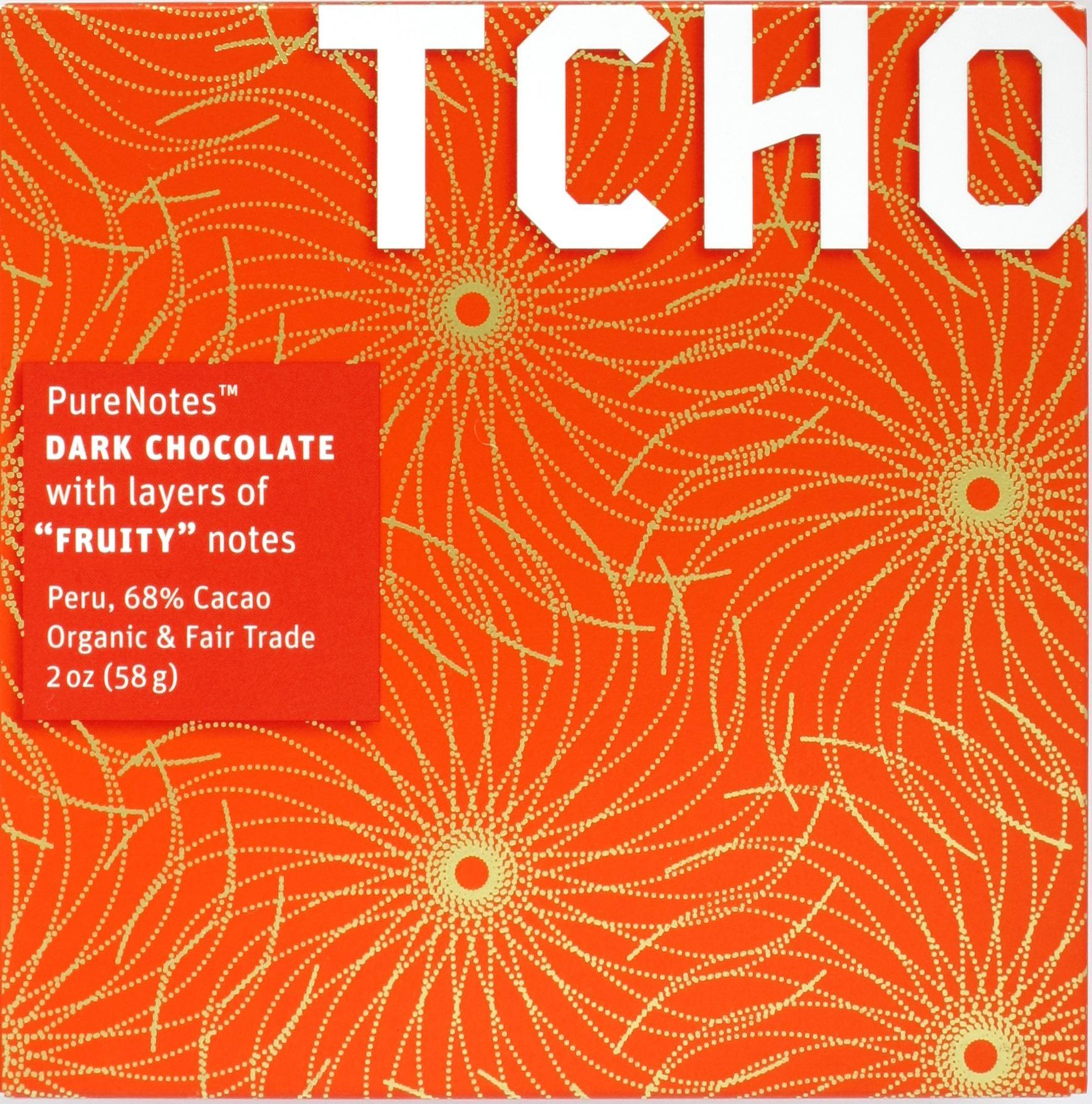 TCHO 68%ige Peru-Schokoladentafel aus den USA