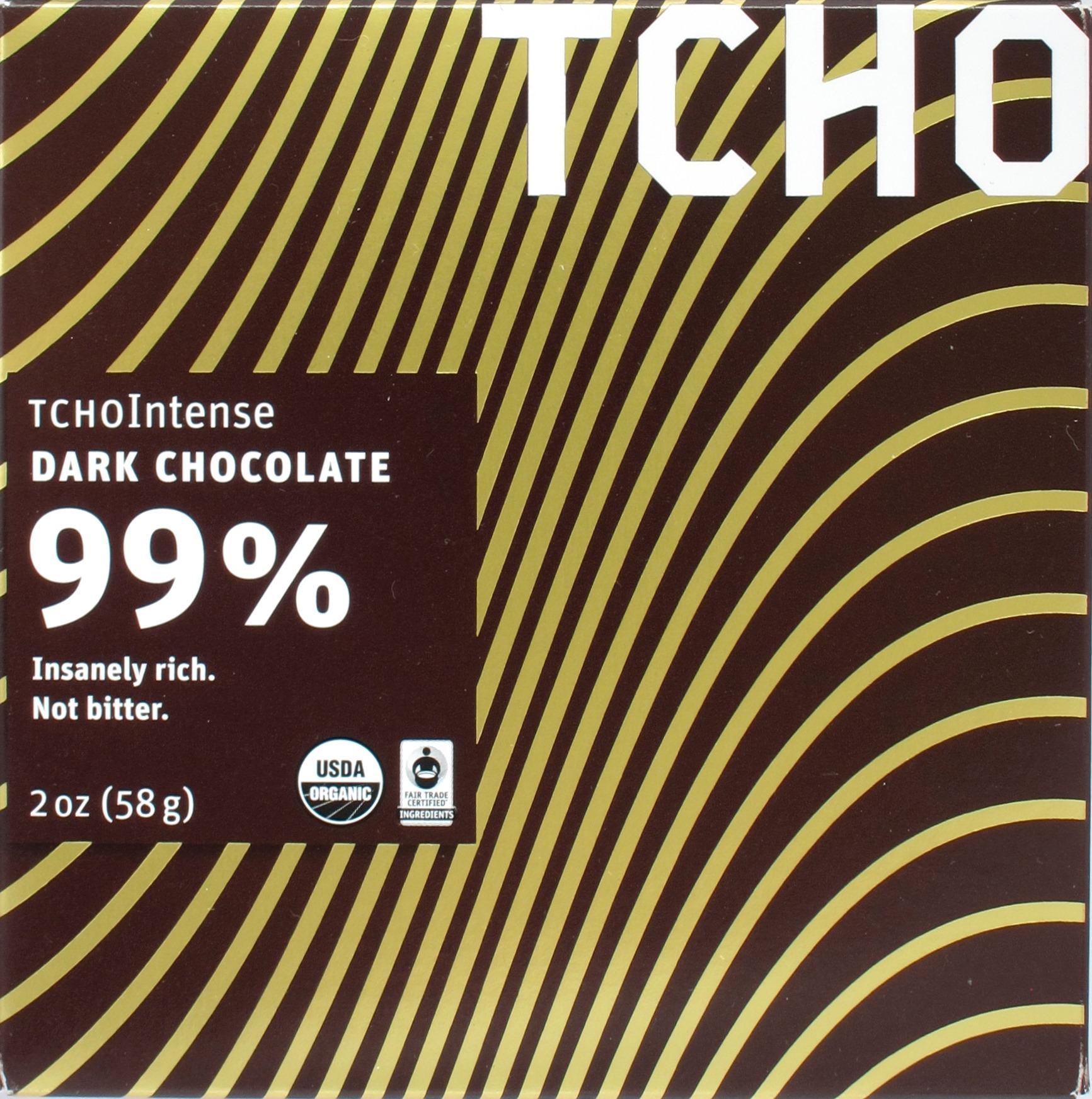 TCHO 99% Dunkle Schokolade