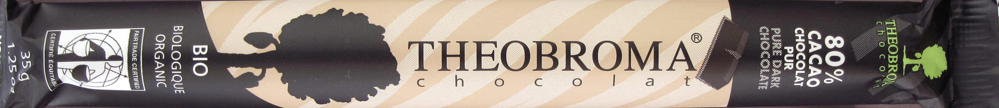 Theobroma Chocolat (Quebec, Kanada) - 80%, Pur