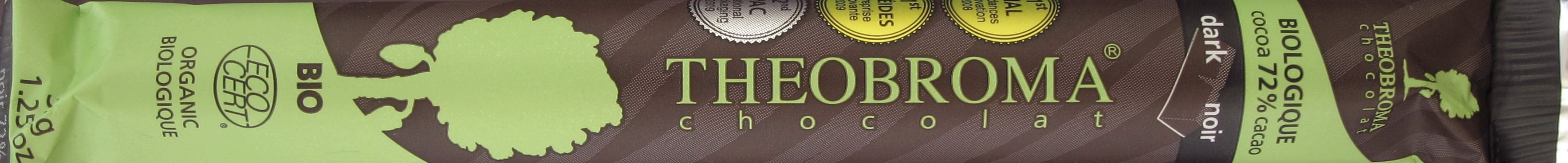 "Kanadische Schokolade ""Theobroma Chocolat"", 72%"