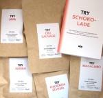 TRY Foods Probierset Schokolade, Inhalt