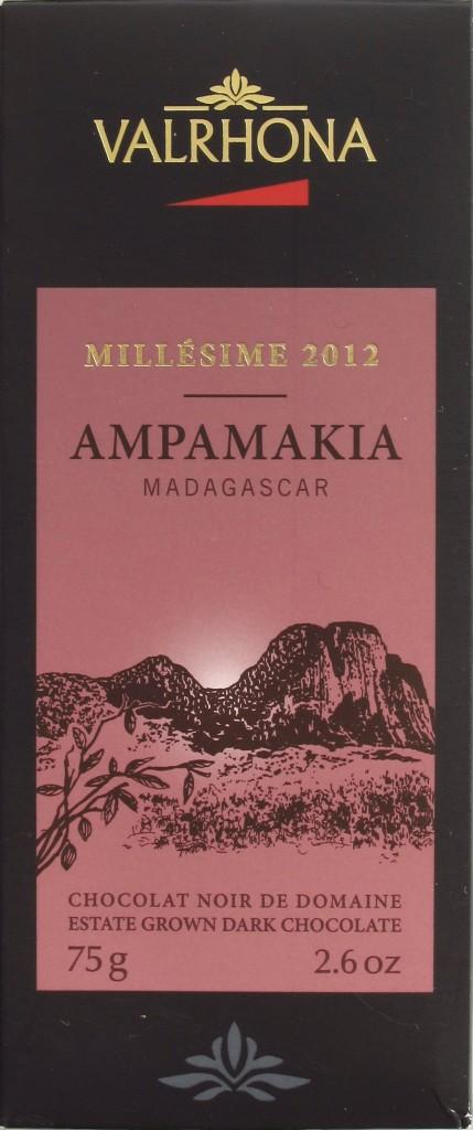"Valrhona Madagaskar-Schokolade ""Ampamakia"""