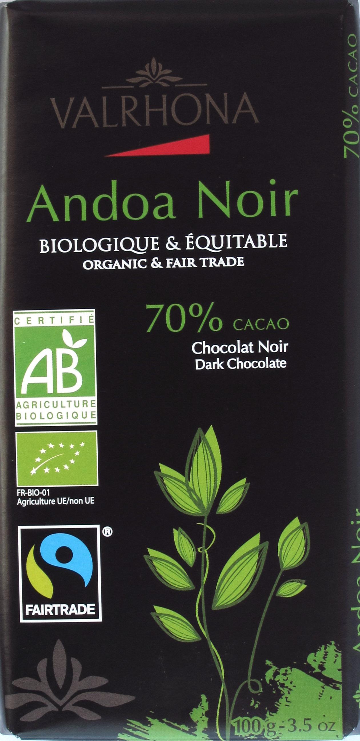 """Varhona Bitterschokolade """"Andoa Noire"""""""