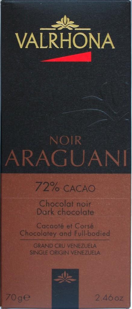 Bitterschokolade Valrhona Araguani