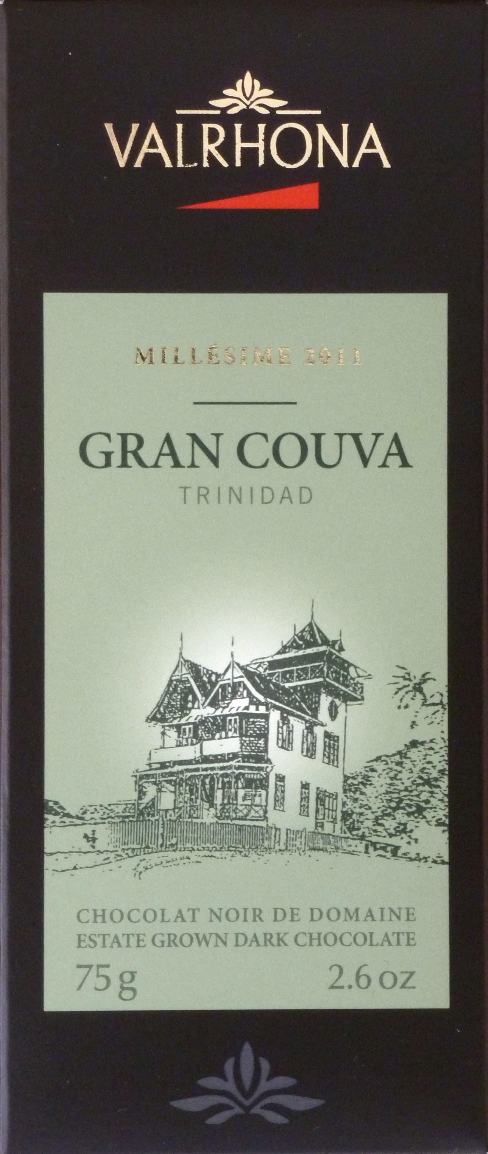 Valrhona Gran Couva: Trinitario, Trinidad