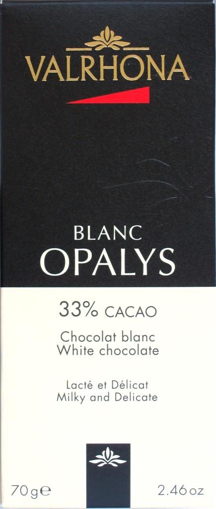 Valrhona Weiße Schokolade Opalys