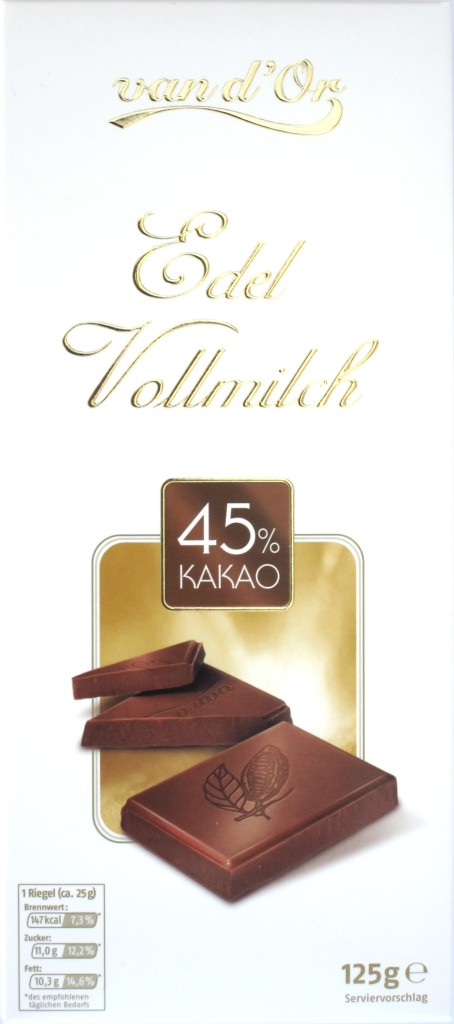 Tafel: Penny 45% Edel Vollmilchschokolade