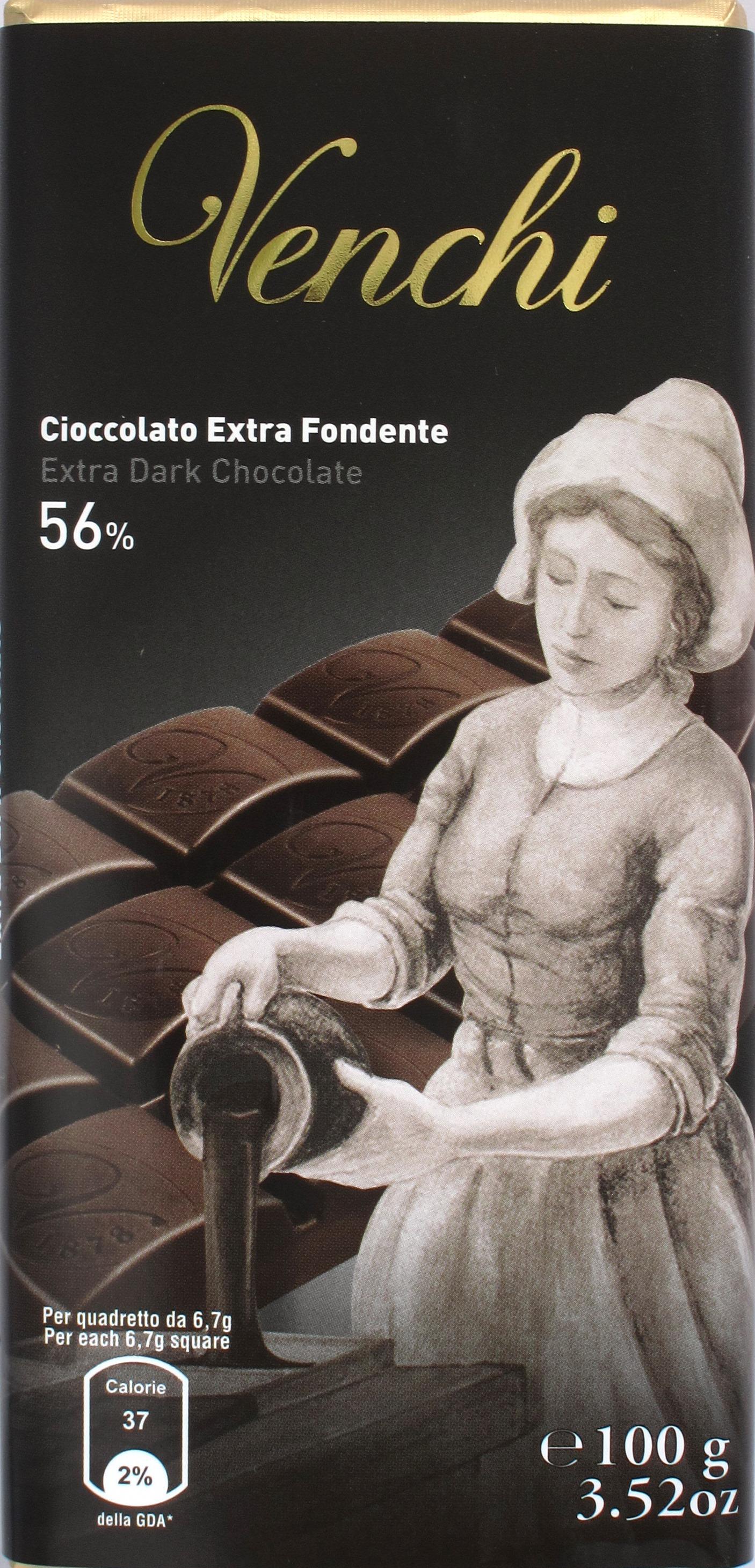 Venchi Bitterschokolade 56% Fondente