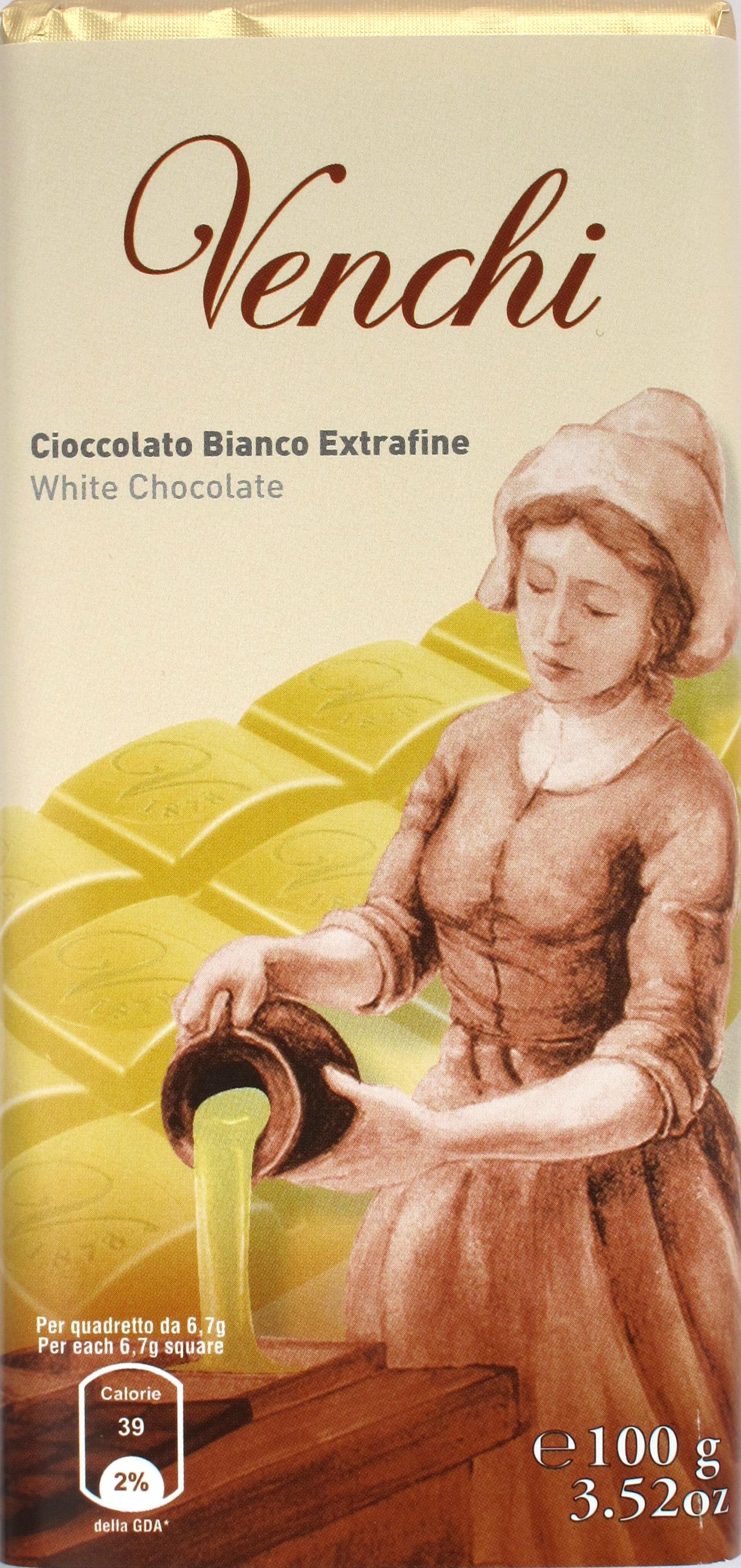 Venchi Weiße Schokolade