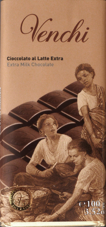 Venchi Cioccolato al Latte Extra Milchschokolade