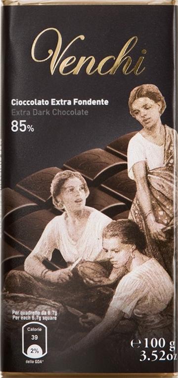 Packung: Venchi Extra Fondente 85%