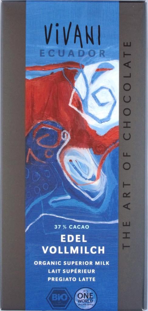 Vivani Milchschokolade Ecuador