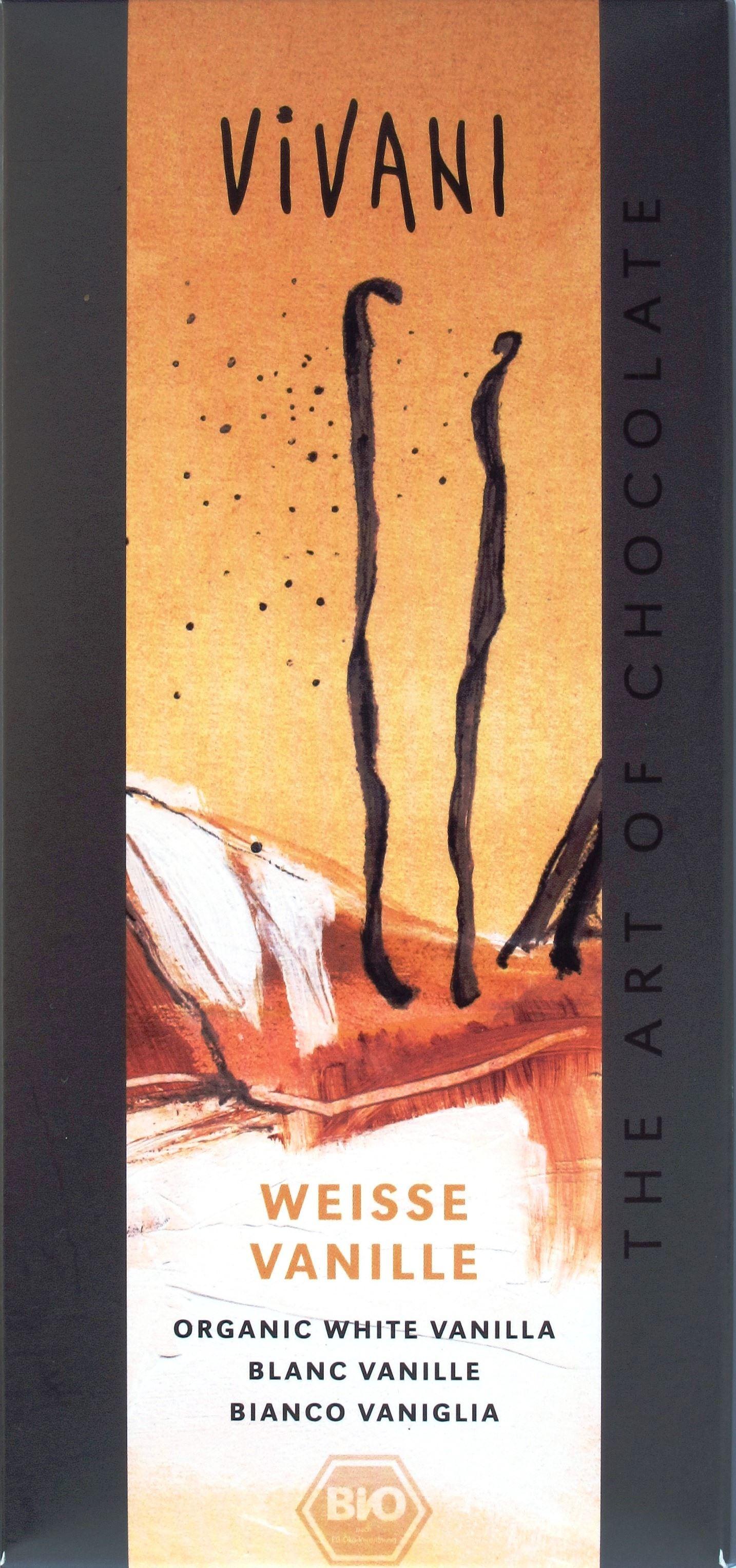 Vivani Weiße Vanille-Schokolade