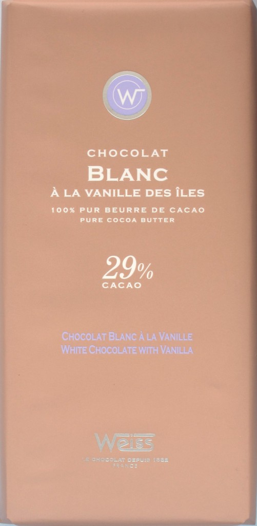 Cover Chocolaterie Weiss, Weiße Schokolade